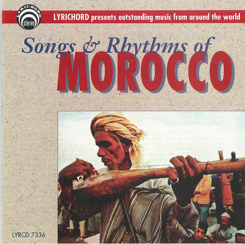 Songs and Rhythms of Morocco CD LYR-7336