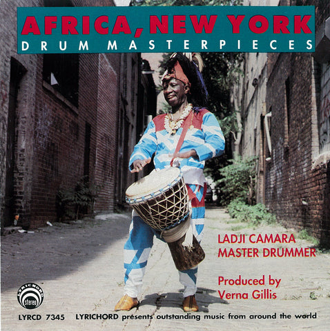 Africa, New York Drum Masterpieces - Ladji Camara CD LYR-7345