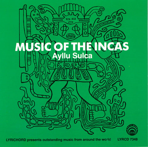 "Music of the Incas: Andean Harp and Violin <font color=""bf0606""><i>DOWNLOAD ONLY</i></font> LYR-7348"