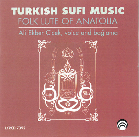 "Turkish Sufi Music <font color=""bf0606""><i>DOWNLOAD ONLY</i></font> LYR-7392"