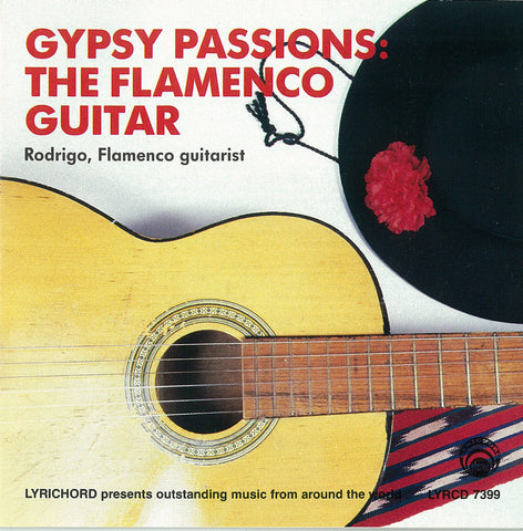 "Rodrigo: Gypsy Passions, The Flamenco Guitar <font color=""bf0606""><i>DOWNLOAD ONLY</i> LYR-7399"