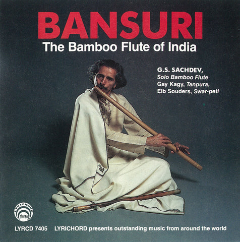 "G.S. Sachdev: Solo Bansuri <font color=""bf0606""><i>DOWNLOAD ONLY</i></font> LYR-7405"