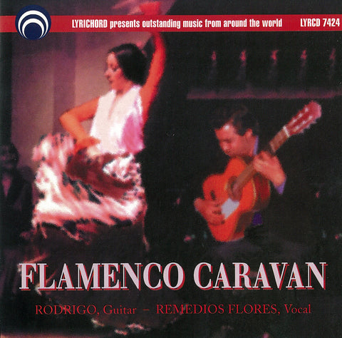 "Flamenco Caravan <font color=""bf0606""><i>DOWNLOAD ONLY</i></font> LYR-7424"