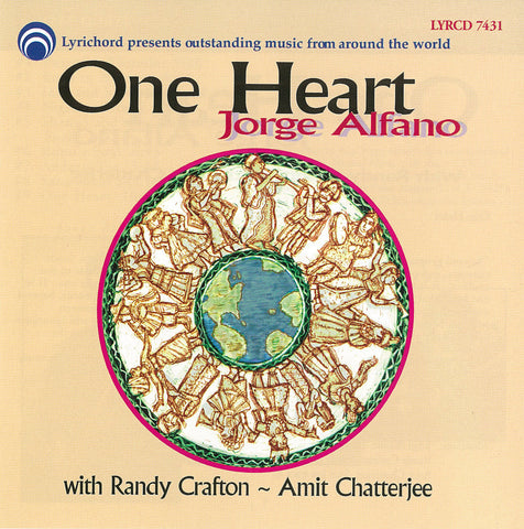 Jorge Alfano: One Heart CD LYR-7431