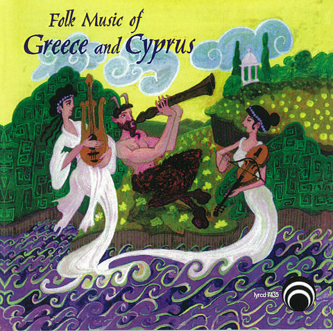 "Folk Music of Greece and Cyprus <font color=""bf0606""><i>DOWNLOAD ONLY</i></font> LYR-7435"