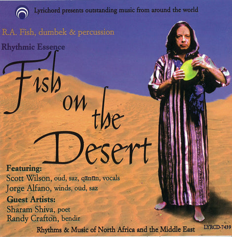 "Fish on the Desert - R.A. Fish and Company <font color=""bf0606""><i>DOWNLOAD ONLY</i></font> LYR-7439"