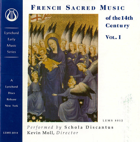 "French Sacred Music of the 14th Century - Schola Discantus <font color=""bf0606""><i>DOWNLOAD ONLY</i></font> LEMS-8012"