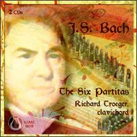 J.S. Bach: The Six Partitas, Bach on Clavichord, Vol. 1 - Richard Troeger CD LEMS-8038