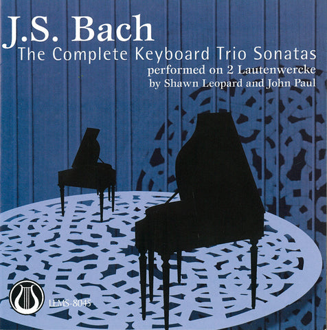 LEMS-8045 J.S. Bach: The Keyboard Trio Sonatas - performed on 2 Lautenwercke CD