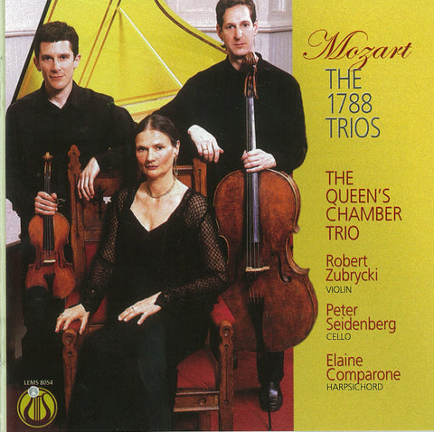 "Mozart: The 1788 Trios - The Queen's Chamber Trio <font color=""bf0606""><i>DOWNLOAD ONLY</i></font> LEMS-8054"