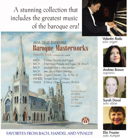 Baroque Masterworks - Ama Deus Baroque Ensemble CD LEMS-8058