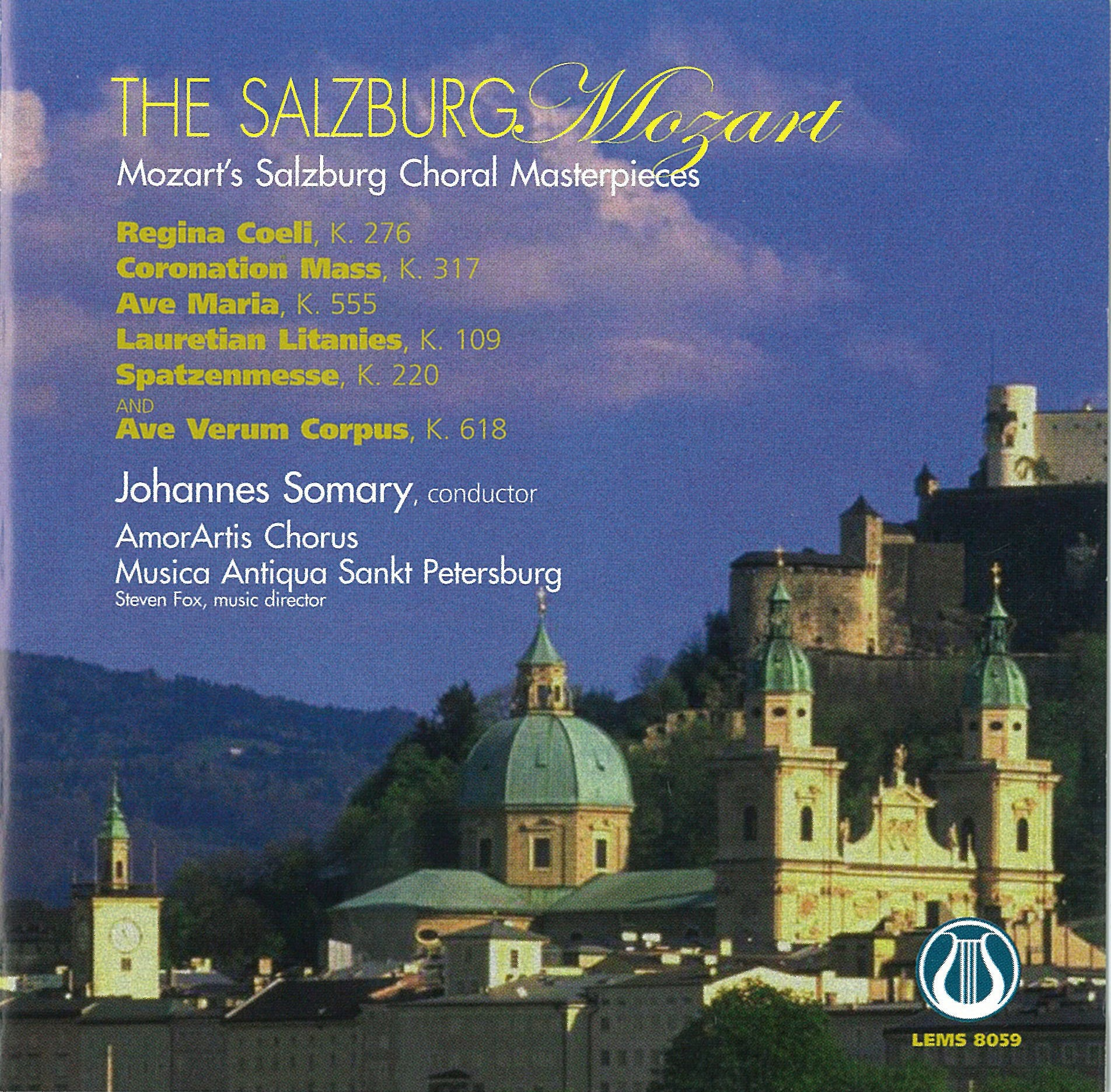 The Salzburg Mozart - Mozart's Salzburg Choral Masterpieces DOWNLOAD ONLY  LEMS-8059