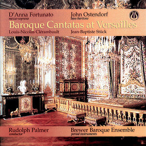LEMS-8064 Baroque Cantatas at Versailles (Clérambault & Stuck) CD