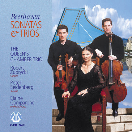 "Beethoven: Sonatas and Trios - The Queen's Chamber Trio <font color=""bf0606""><i>DOWNLOAD ONLY</i></font> LEMS-8067"
