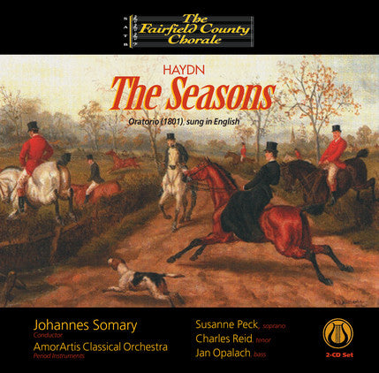 Haydn: The Seasons - Oratorio (sung in English) 2 CD set LEMS-8071
