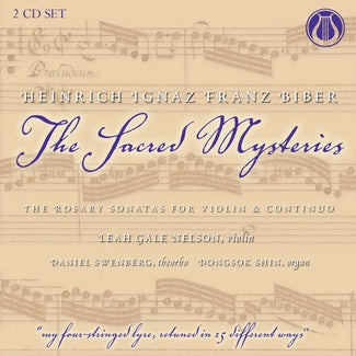 "H.I.F. Biber (1644-1704) The Sacred Mysteries: The Rosary Sonatas for Violin & Continuo <font color=""bf0606""><i>DOWNLOAD ONLY</i></font> LEMS-8079"