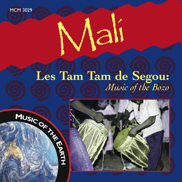 "Mali - Les Tam Tam De Segou: Music of the Bozo <font color=""bf0606""><i>DOWNLOAD ONLY</i></font> MCM-3029"