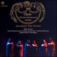 "Claudio Monteverdi's Orfeo - ARTEK <font color=""bf0606""><i>DOWNLOAD ONLY</i></font> LEMS-9002"
