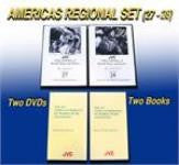 JVC The Americas Music and Dance Regional Set -- 2 DVDs and 1 CD-ROM with 9 printable, searchable and copy-permission books