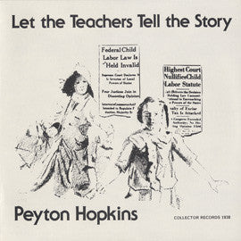 Let the Teachers Tell the Story CD