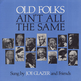 Old Folks Ain't All the Same CD