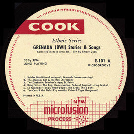 Grenada Stories and Songs (1957-58)  CD