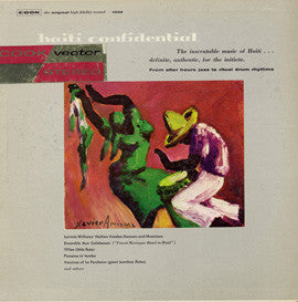 Haiti Confidential (1958)  Lavinia Williams' Groupe Folklorique CD