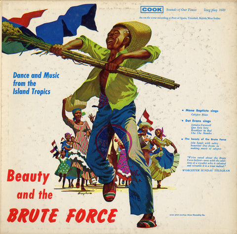 Beauty and the Brute Force (1957)  The Brute Force Steel Band, Dot Evans CD