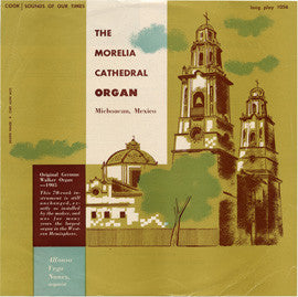 Morelia Cathedral Organ  Bach  Fantasia and Fugue in G minor: Vivaldi  Concerto No. 2 in A minor  Alfonso Vega Nunez (1954) CD