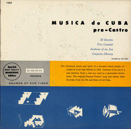 Jawbone of an Ass  Musica de Cuba (1955)  Trio Lisabet, others CD