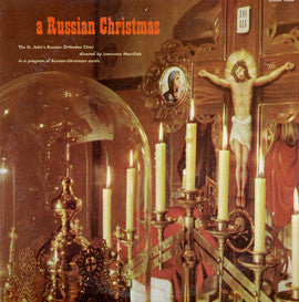 Russian Christmas (1961)  St. John's Russian Orthodox Choir CD