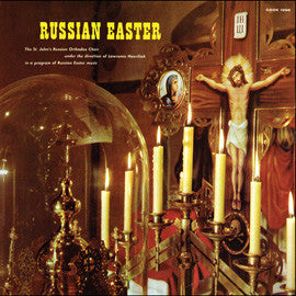 Russian Easter (1961)  St. John's Russian Orthodox Choir CD