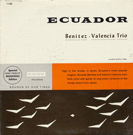 Ecuador (1958)  The Benitez-Valencia Trio CD