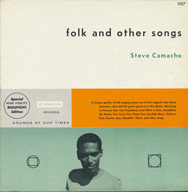Folk and Other Songs (1962)  Steve Camacho CD