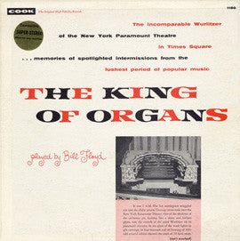 Bill Floyd  The King of Organs (1957) CD