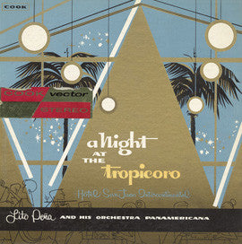 A Night at the Tropicoro (1959)  Jean Luis, Oswaldo Seda, Lito Pena Band  CD