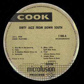 Dirty Jazz from Down South (Trinidadian Instrumentals) (1958)  CD