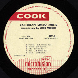 Caribbean Limbo Music (N.D.)  John Buddy Williams Band, Cyril Diaz Orchestra, others CD