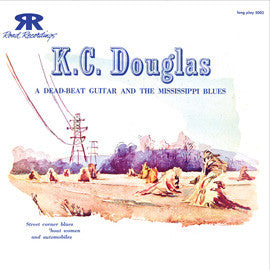 A Dead Beat Guitar and the Mississippi Blues (1952)  K.C. Douglas CD