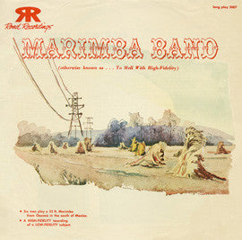 Mexican Marimba Band (1954)  CD