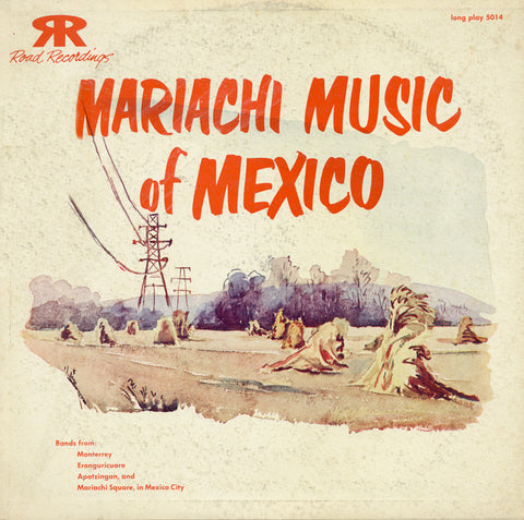 Mariachi Music of Mexico (1954)  CD