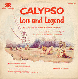 Calypso Lore and Legend (Songs and Stories from Trinidad) (1956)  CD