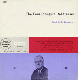 Four Inaugural Addresses CD