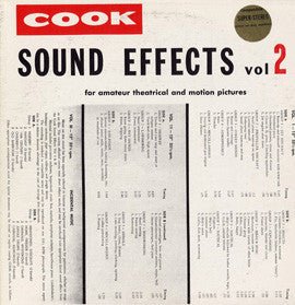 Sound Effects, Vol. 2 CD