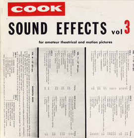 Sound Effects, Vol. 3 CD