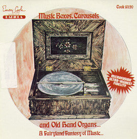 Music Boxes, Carousels and Hand Organs (1950) CD