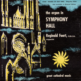 The Organ in Symphony Hall CD