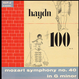 The New Orchestral Society of Boston  Two Classical Symphonies (Mozart  Symphony No. 40 / Haydn  Symphony No. 100) (1955) CD