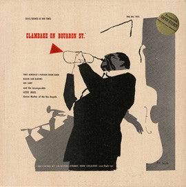 Clambake on Bourbon Street (1954-55)  Tony Almerico's Parisian Room Band and Lizzie Miles CD
