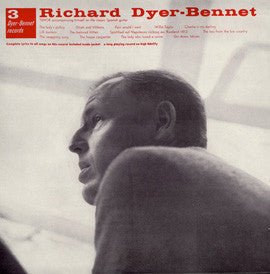 Richard Dyer-Bennet  Bennet 3 (1957) CD